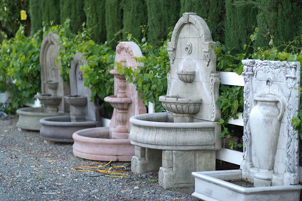 Charmant Fountain Selections In Gilroy